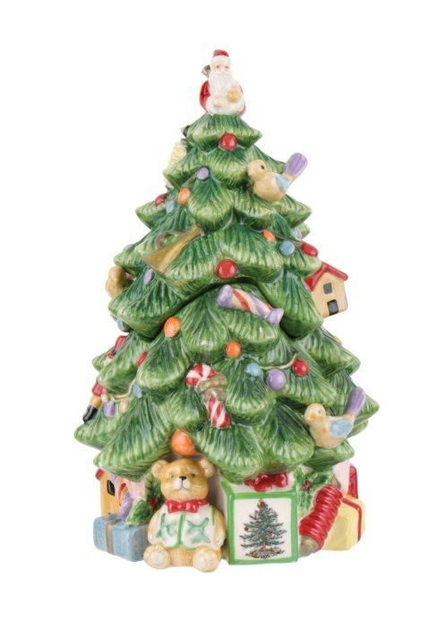 Spode  Christmas Tree Christmas Tree-shaped Covered Candy Jar $39.99