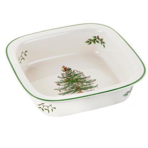 Spode Christmas Tree  Bakeware Square Baker $29.99