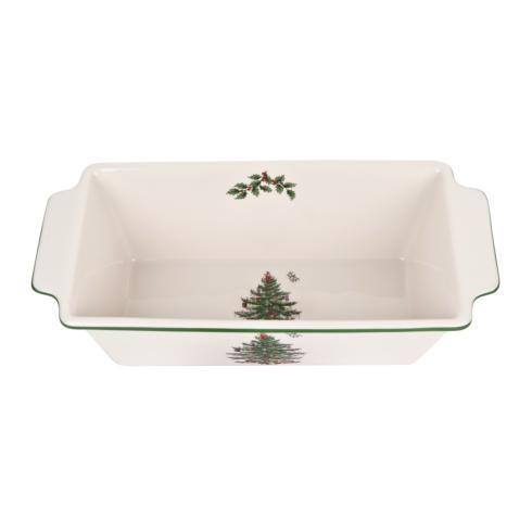 Spode Christmas Tree  Bakeware Loaf Pan $60.00