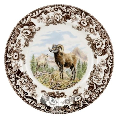 Spode Woodland Bighorn Sheep  Dinner Plate $37.00