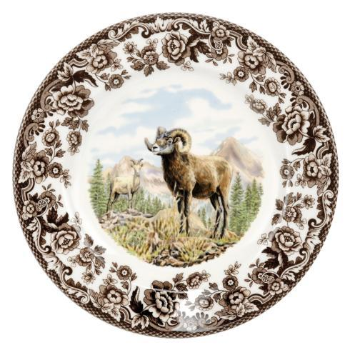 Spode Woodland Bighorn Sheep Salad Plate $26.00