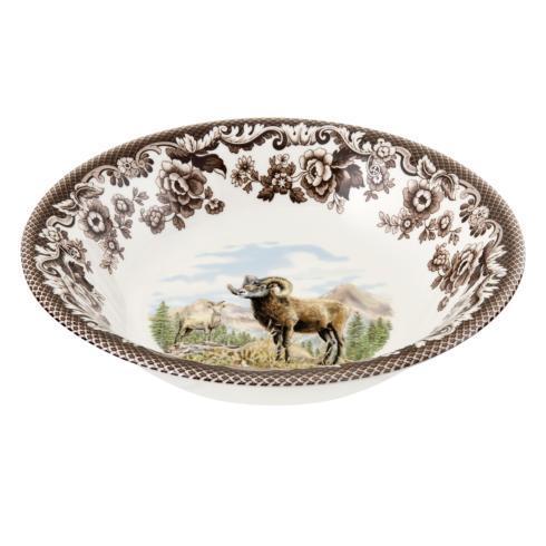Spode Woodland Bighorn Sheep Ascot Cereal Bowl $45.50