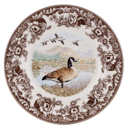 Spode Woodland Canada Goose Dinner Plate $37.00