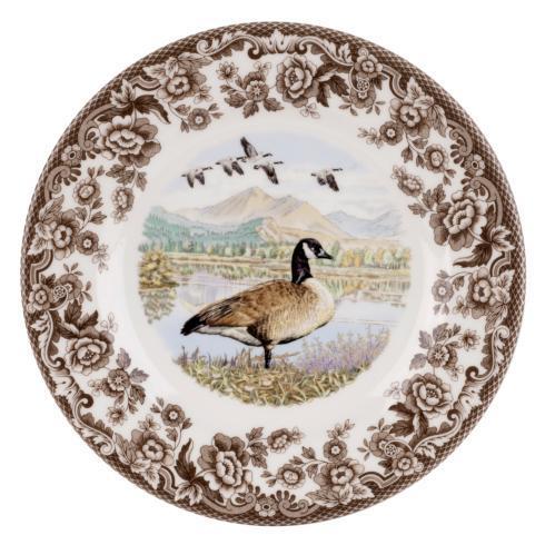 Spode Woodland Canada Goose Salad Plate $26.00