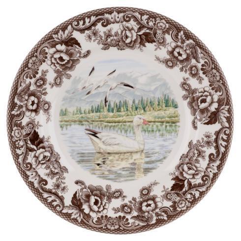 Spode Woodland Snow Goose Dinner Plate $37.00