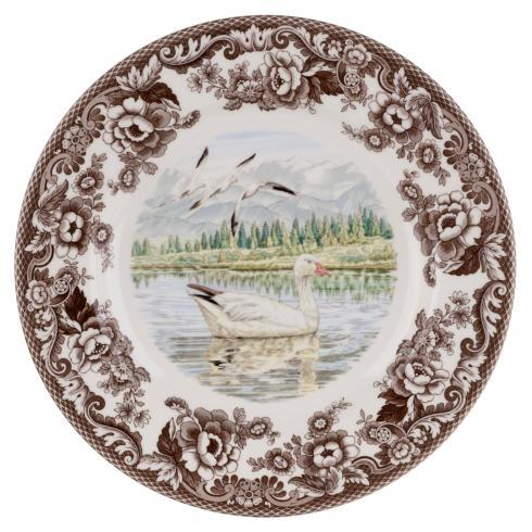 Spode Woodland Snow Goose Dinner Plate $37.00