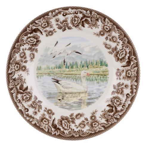 Spode Woodland Snow Goose Salad Plate $26.00