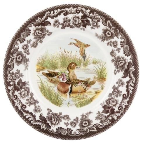 $30.00 Wood Duck Luncheon Plate