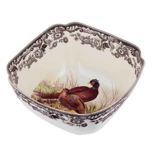 Spode Woodland Assorted Square Bowl-Pheasant $126.00