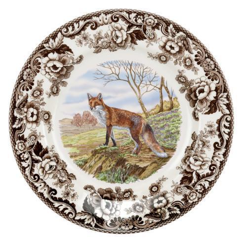 Spode Woodland Red Fox Dinner Plate $46.25