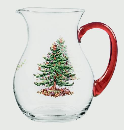 Spode Christmas Tree  Glassware Pitcher $39.99