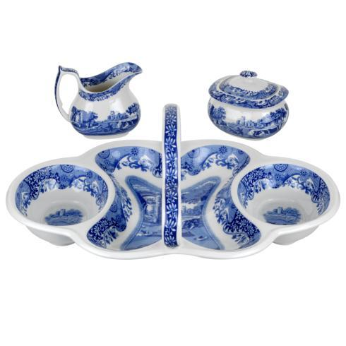 Spode  Blue Italian 4-Piece Entertaining Set(200th Anniversary)  $129.99