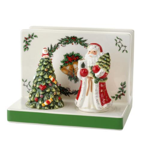 Spode Christmas Tree Figural Collection Napkin Holder with Salt & Pepper Set $39.99