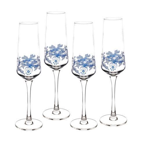 $39.99 Set of 4 Champagne Flutes
