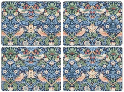 Strawberry Thief Blue Placemats collection with 1 products
