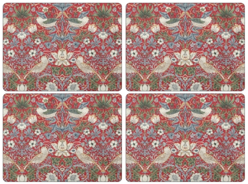 Strawberry Thief Red Placemats collection with 1 products