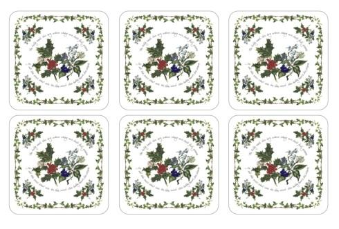 $15.00 Holly & The Ivy Coasters - Set of 6