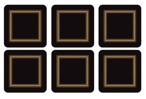 Classic Black Coasters collection with 1 products