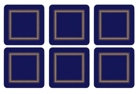 Classic Midnight Blue Coasters collection with 1 products
