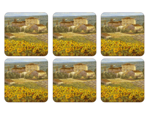 Tuscany Coasters collection with 1 products
