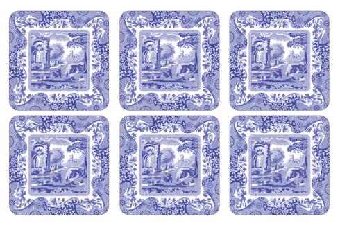 $15.00 Blue Italian Coasters