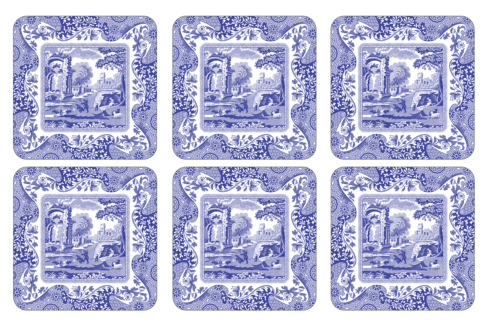Blue Italian Coasters collection with 1 products