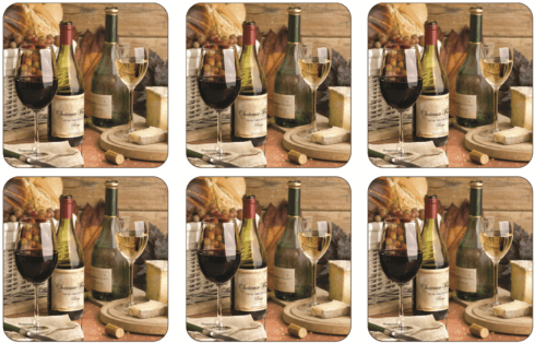Artisanal Wine Coasters collection with 1 products