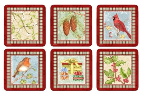 Christmas Sentiments Coasters