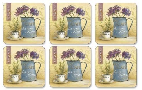 Cafe De Fleurs Coasters
