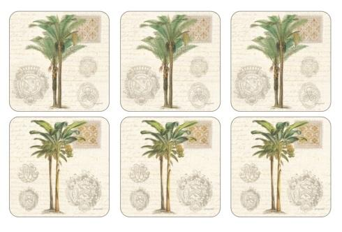 Vintage Palm Study Coasters collection with 1 products