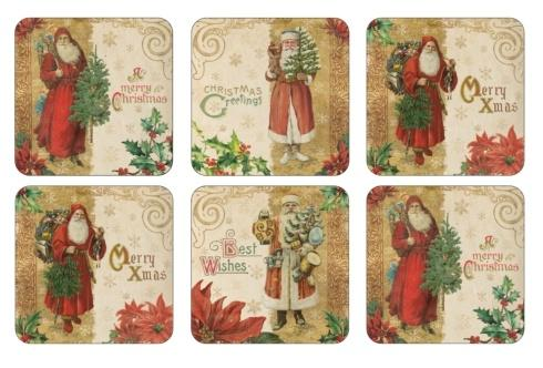 Victorian Christmas Coasters
