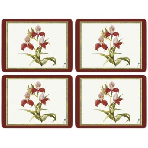 Botanical Orchid Placemats