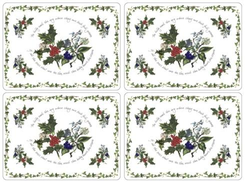 $40.00 Holly & The Ivy Placemats - Set of 4