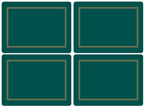 Classic Emerald Placemats