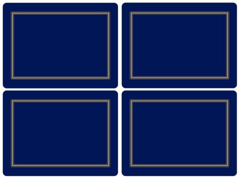 Classic Midnight Blue Placemats