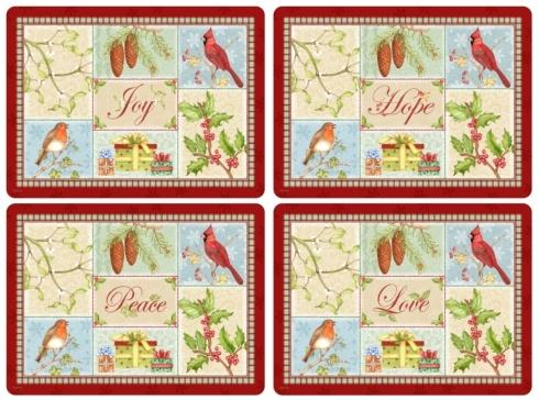 Christmas Sentiments Placemats