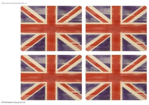 Union Jack Placemats collection with 1 products