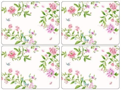 Porcelain Garden Placemats