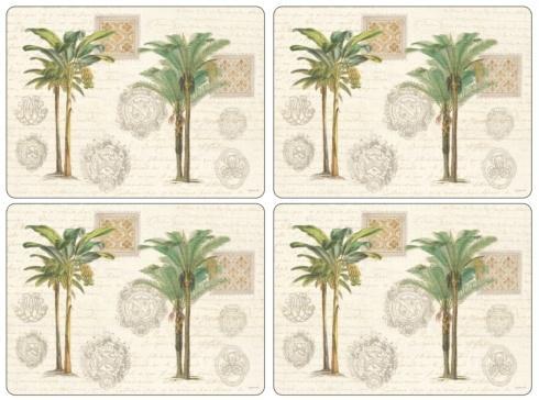 Vintage Palm Study Placemats