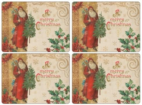 Victorian Christmas Placemats