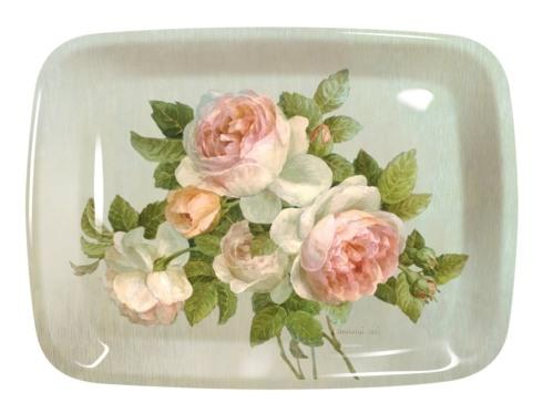$20.00 Antique Roses Large Melamine Tray
