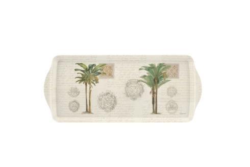 Vintage Palm Study Sandwich Tray