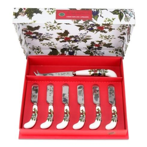 $42.00 Cheese Knife & 6 Spreaders