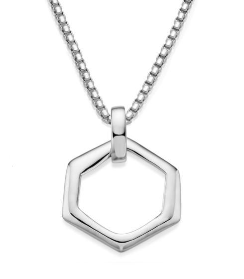 $225.00 Hexagon Pendant