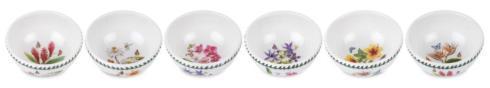 $162.00 Set of 6 Assorted Motif Individual Fruit Salad Bowls