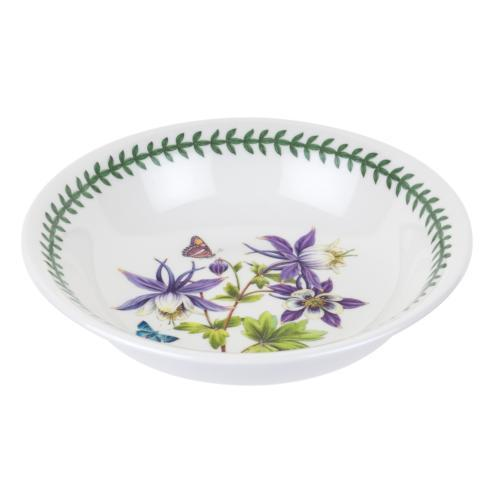 Medium Low Pasta Serving Bowl with Dragonfly Motif