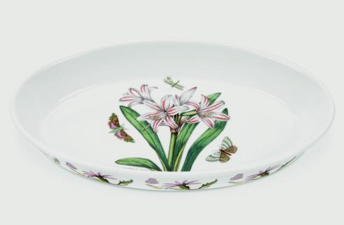 $42.00 Belladonna Lily Oval Baking Dish