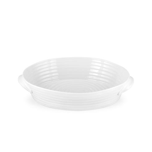 Portmeirion  Sophie Conran White Small Handled Oval Roasting Dish $35.00