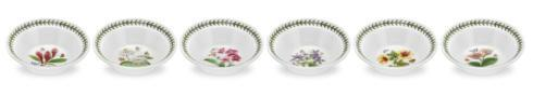 $162.00 Set of 6  Assorted Motif Oatmeal Bowls