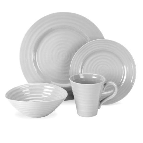 Portmeirion  Sophie Conran Grey 4 piece place setting $49.99
